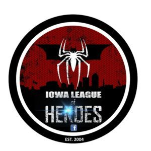 iowa league of heroes logo