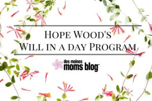 Hope Wood's Will in a day