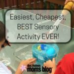 Easiest, Cheapest, BEST Sensory Activity EVER!