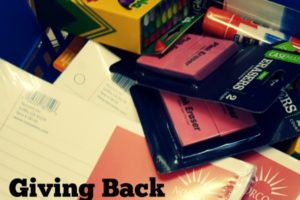 Giving Back for Back-to-School | Des Moines Moms Blog