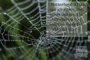 Motherhood - The Work That No One Sees | Des Moines Moms Blog