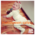 Halloween Safety Tips from One Mummy to Another