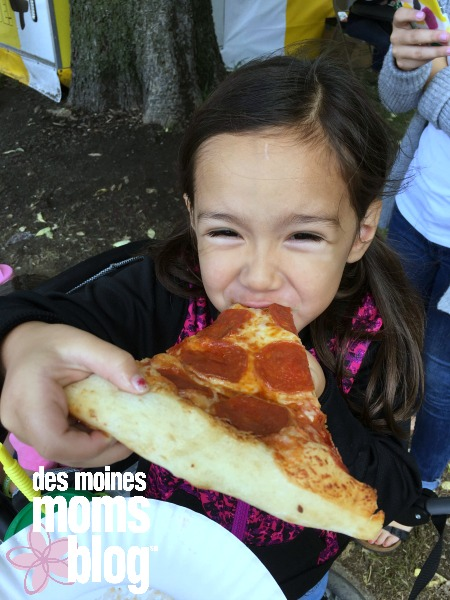 picky eater eating pizza