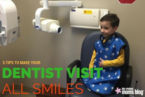 5 tips to make your childs dentist-visit easier