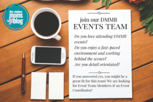 Join DMMB events team