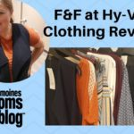 F and F Clothing for Hy-Vee: Grocery Shopping Meets Fashion + A Giveaway!
