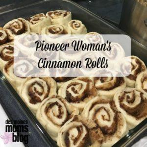 pioneer womans cinnamon rolls