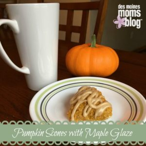 pumpkin scones fall recipes