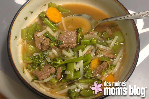 beef stir fry soup