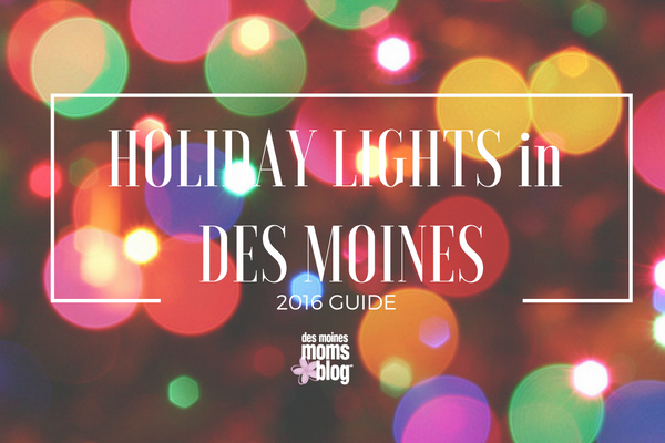 holiday lights in des moines