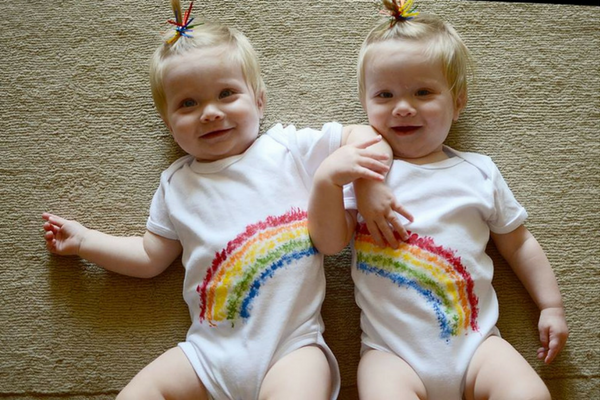 life after SIDS twin rainbow babies des moines moms blog
