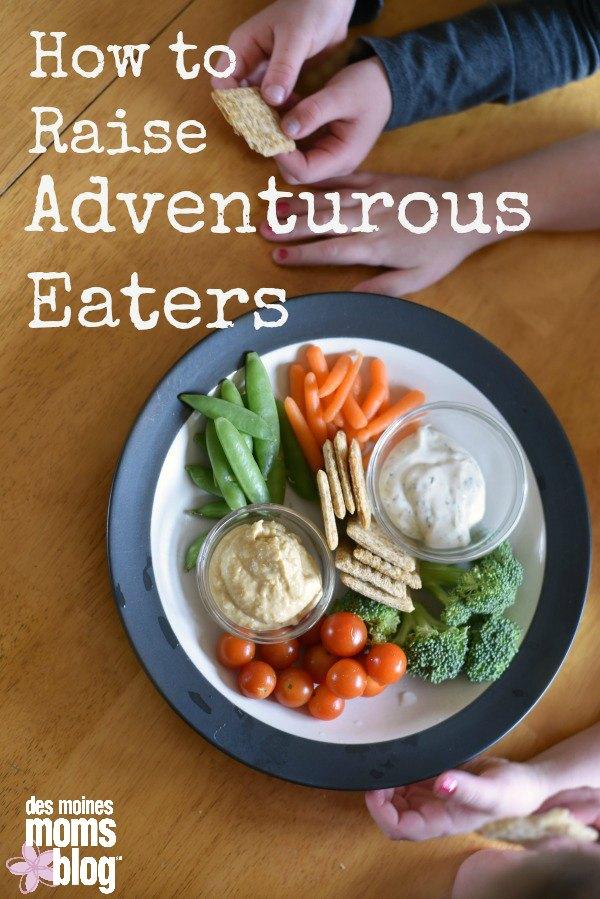 Adventurous Eaters des moines moms blog