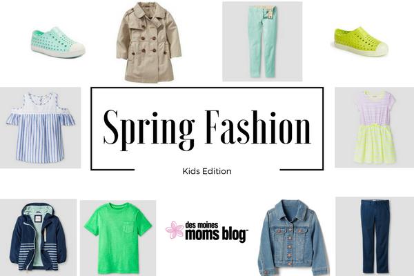 spring fashion for kids des moines moms blog