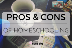 Pros and Cons of Homeschooling | Des Moines Moms Blog