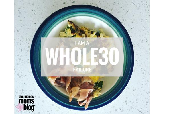whole30 failure