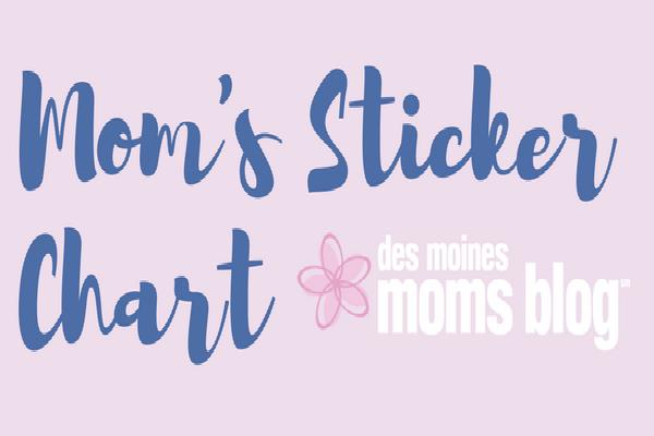 sticker chart for moms
