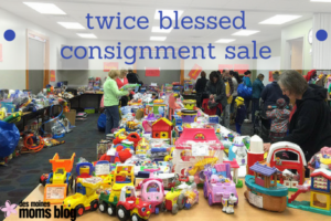 twice blessed consignment sale
