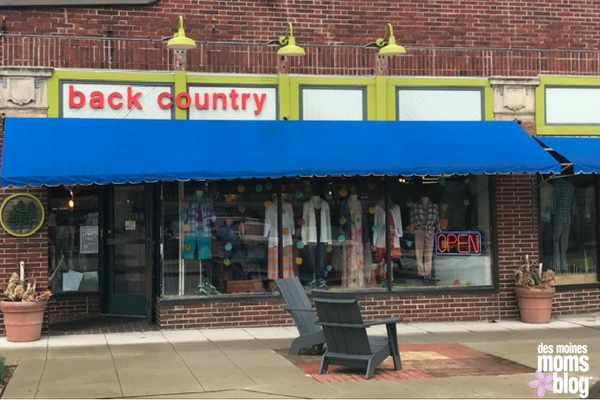 Back Country Clothing Beaverdale Des Moines Neighborhood