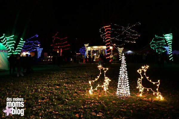 Polk City Holiday Lights Des Moines Neighborhood Guide