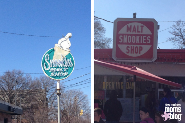 Snookies Malt Shop Beaverdale Des Moines