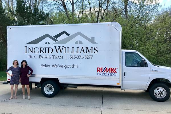 ingrid - moving truck