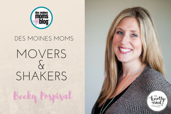 DMMB movers shakers Becky Pospisal The Knotty Nail