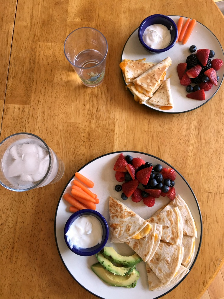 Easy Mommy and Me Lunches