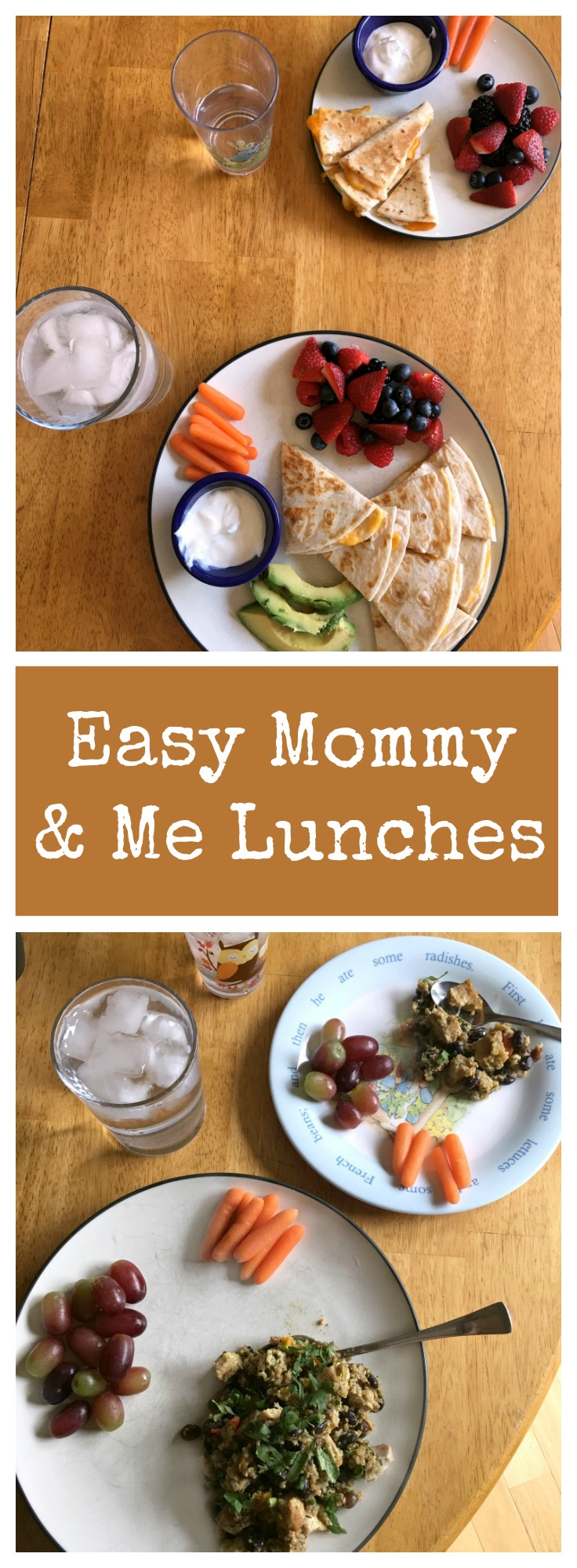 Easy Mommy and Me Lunch Ideas for Kids