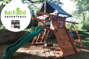 backyard adventures play set