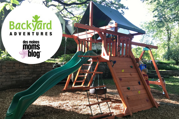 backyard adventures play set