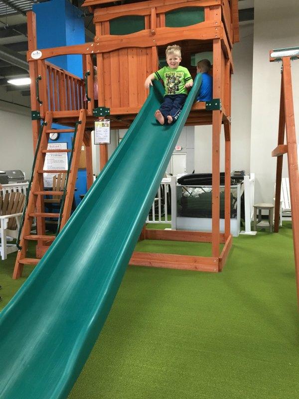 backyard adventures indoor play Des Moines Moms Blog