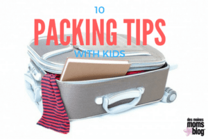 tips packing with kids | Des Moines Moms Blog