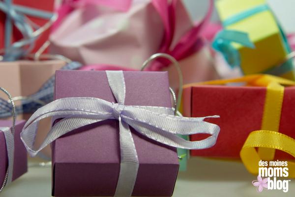 Giving back birthday presents