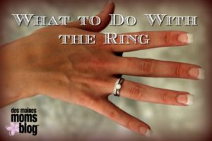 wedding ring after divorce
