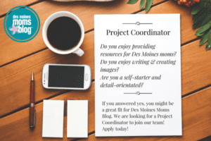 we're hiring project coordinator