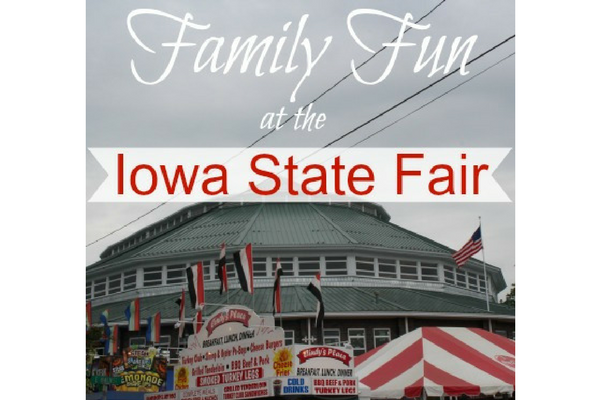 family fun Iowa State Fair
