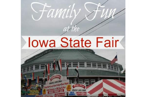 family fun Iowa State Fair