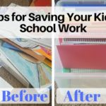 Tips for Saving (and Recycling!) Your Kids' School Work
