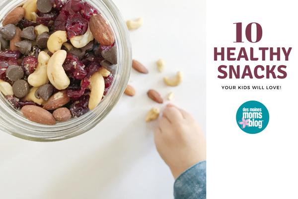 10 healthy after school snacks