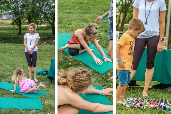 Family Fun Day yoga