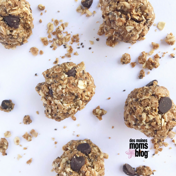 energy bites healthy snacks   Des Moines Moms Blog