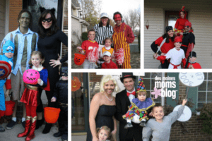 family theme halloween costumes