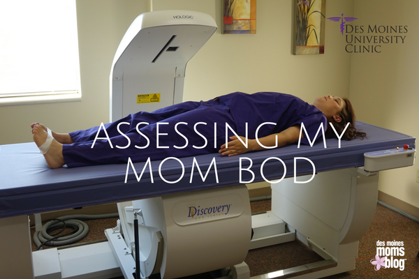 body composition screening assessing my mom bod