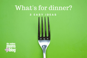 easy meals 5 dinner ideas