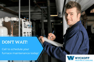 wyckoff furnace heating and cooling hvac check up