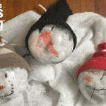 Simple DIY Snowman Ornaments