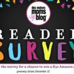2017 Des Moines Moms Blog Reader Survey