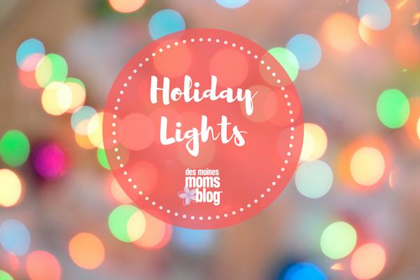 Des Moines Christmas lights 2017