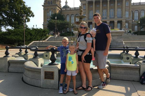 Port family Des Moines Capitol