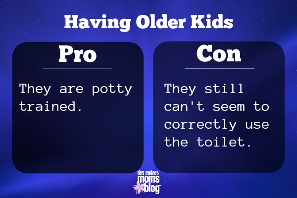 older kids pros and cons potty
